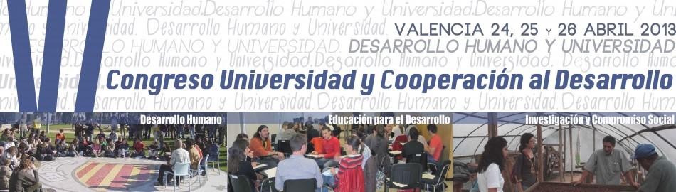 VI CONGRESO UNIVERSIDAD Y COOPERACIÓN AL DESARROLLO